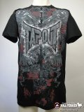 TAPOUT Tshorts The Brave Die Proud Black