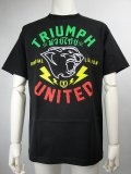 Triumph United Tshirts BOLTS AS Black