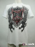 TAPOUT Tshirts Eagle Warrior White