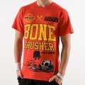 Scramble Tshirts Bone Crusher Red