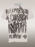 TAPOUT Tshirts The Message White