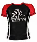 KEIKO Rashguard Speed Short Sleeve Black/Red