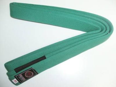 Photo2: BULLTERRIER Jiu Jitsu NEW Belt Green