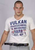VULKAN Tshirts Boundaries Grey Heather