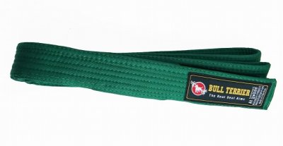 Photo1: BULLTERRIER Jiu Jitsu NEW Belt Green