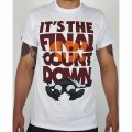 MANTO T-Shirt Count Down White