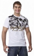DRAGAO T-shirt Fight for Life White