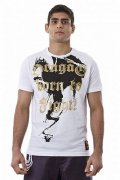 DRAGAO T-shirt Born to Fight White