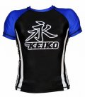 KEIKO Rashguard Speed Short Sleeve Black/Blue