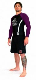 Rashguard Speed Long Sleeve Black/Purpel