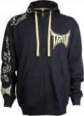 TAPOUT Zipped Hoodie Fierce Black/Gold