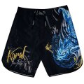 KORAL Board Shorts FIGHT LIFE Black/Blue