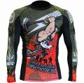 HCT Rash guard Hammer  long-sleeved  Black