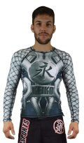 KEIKO Rash Guard  SPARTA Long Sleeve Gray