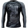 HCT Rashguard GLADIATOR Long Sleeve Black/Gray