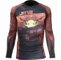 JITSU Rash Guard BERKUT Long Sleeve Black