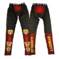 DYNASTY Long Spats MONKEY KING Red/Black