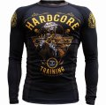 HCT Rashguard Monster Fight Club Long Sleeve Black