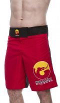 DRAGAO Fight Shorts  LOGOS Red