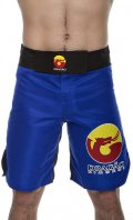 DRAGAO Fight Shorts  LOGOS Blue.