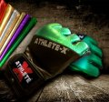 Athlete X MMA glove METALIC Green.
