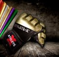 Athlete X MMA glove METALIC Gold.