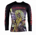 Tatami Kids  Rash Guard TATAMI X IRON MAIDEN Killers Long Sleeve