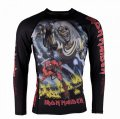 Tatami Kids  Rash Guard TATAMI X IRON MAIDEN Number of the Beast Long Sleeve