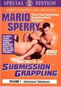 DVD MARIO SPERRY submission grappling vol.1-6