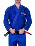 STORM  STRONG Jiu Jitsu Gi  RED LINE Blue