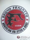 BULLTERRIER embroidery Patch Circle Bruno Frazatto L