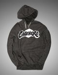 Cage Hero Hooded Parka  Logo Grey