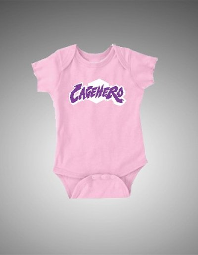 Photo1: Cage Hero Infants Rumper Cutire Pink