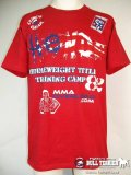 CLINCH GEAR Tshirts Hendo UFC82 TrainingCamp Red