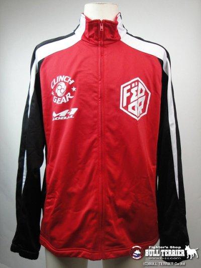 Photo1: CLINCH GEAR Truck Jakcet Fedor Patch Red/Black