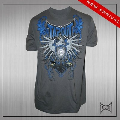 Photo1: TAPOUT Tshirts Prey Charcoal
