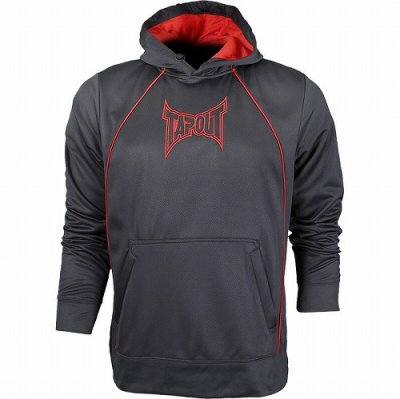 Photo1: TAPOUT Pullover Hooded Parka Grey