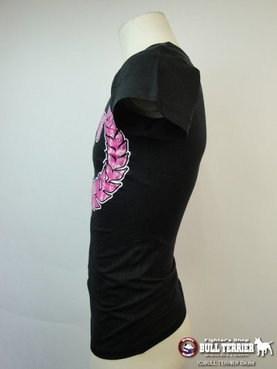 Photo2: Triumph United Ladies Tshirts Bandana Black