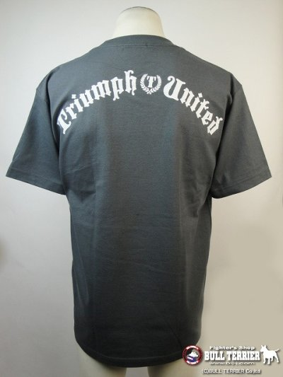 Photo3: Triumph United Tshirts Ichi2 Grey