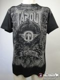 TAPOUT Tshirts Engraved Black