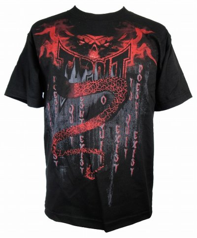 Photo1: TAPOUT Boy Tshirts Entity Black