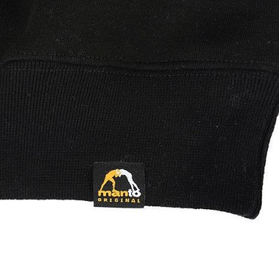 Photo2: MANTO Sweat Pullover WARRIORS Black