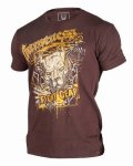 GAMENESS Tshirts SKETCH Brown
