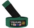 VULKAN Kids Jiu Jitsu Belt Green