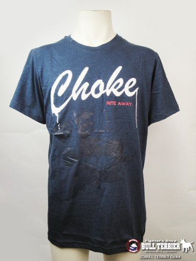 Photo1: VULKAN Tshirts CHOKE Navy