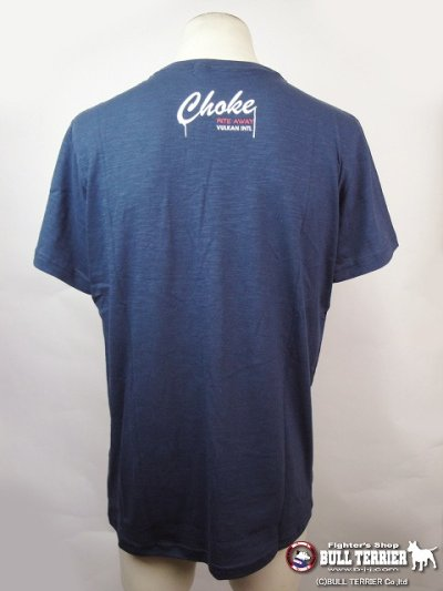 Photo2: VULKAN Tshirts CHOKE Navy