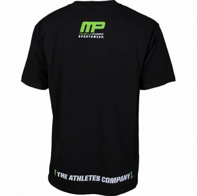 Photo2: Muscle Pharm T-shirt Flagship  Black