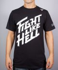 VXRSI T-shirt Fight Like Hell Black