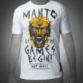 MANTO Tshirts GLADIATOR White