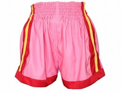 Photo2: Red Nose Muay Thai shorts Pink